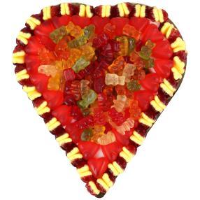 Fruchtgummi Herz roter Traum