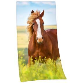 Badelaken Pferd 75x150cm
