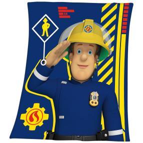 Flauschdecke Feuerwehrmann Sam