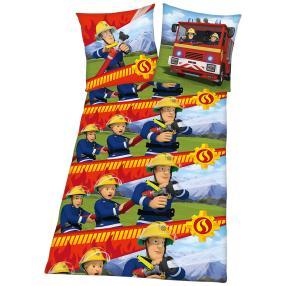 Feuerwehrmann Sam Flanell-Bettwäsche, 2-teilig