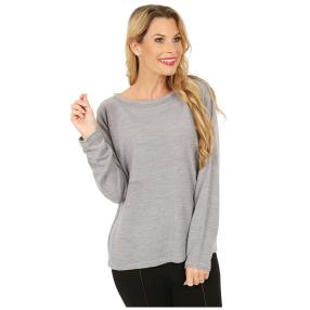 Cashmerelike by BLUE SEVEN Pullover grau