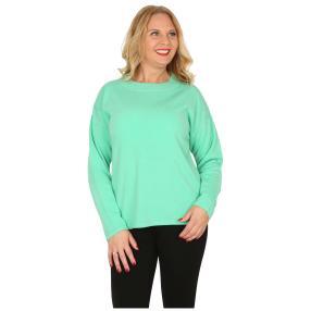 Cashmerelike Damen-Pullover mit Strass mint
