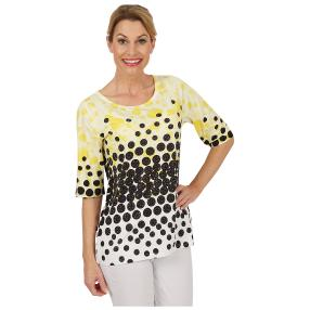 BRILLIANTSHIRTS Shirt 'Pretty Dots' multicolor