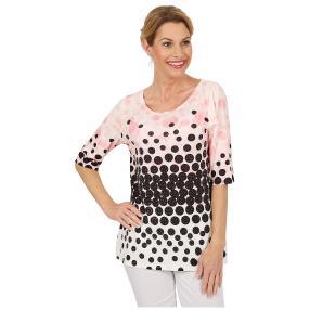 BRILLIANTSHIRTS Shirt 'Pretty Dots' multicolor