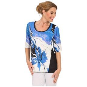 BRILLIANTSHIRTS Shirt 'True Blue' multicolor
