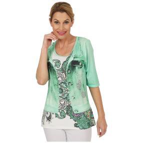 BRILLIANTSHIRTS Shirt 'Baby Mint' multicolor