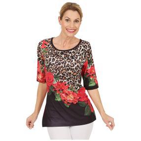 BRILLIANTSHIRTS Shirt 'Lady Belle' multicolor