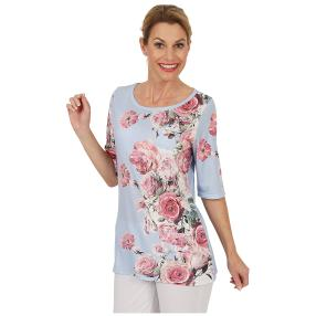 BRILLIANTSHIRTS Shirt 'Pastel Blush' multicolor