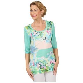 BRILLIANTSHIRTS Shirt 'Marvelous' multicolor