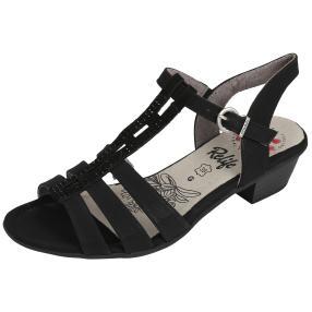 Relife® Riemchen-Sandalen schwarz