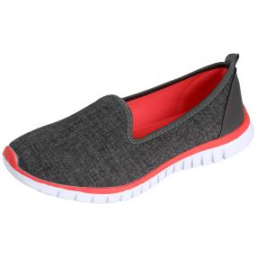 TOPWAY FLEX FOAM Damen Slipper dunkelgrau