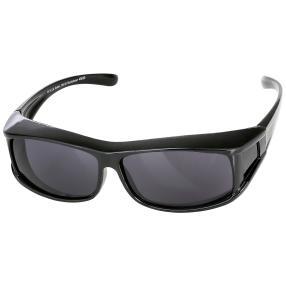 Überzieh-Sonnenbrille unisex, schwarz