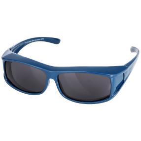 Überzieh-Sonnenbrille unisex blau