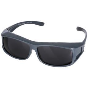 Überzieh-Sonnenbrille unisex, grau