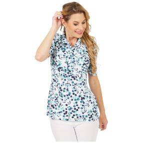 RÖSSLER SELECTION Damen-Poloshirt multicolor