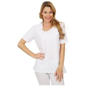 RÖSSLER SELECTION Damen-Shirt weiß