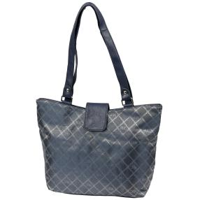Marc Chantal Logo-Shopper navy