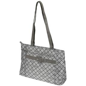 Marc Chantal Logo-Shopper grau