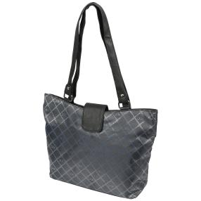 Marc Chantal Logo-Shopper schwarz