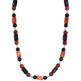 Collier Karneol/Onyx Magnet