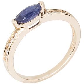 Ring 375 Gelbgold Größe 18