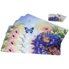 Platzset Schmetterling 8-teilig