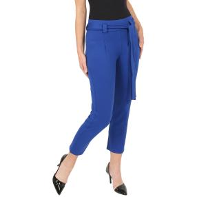Zauberhose 'Perfect Greta', Bindegürtel royalblau