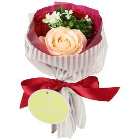 Badeblüte-Rosenstrauß rot