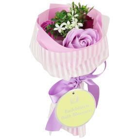 Badeblüte-Rosenstrauß lila