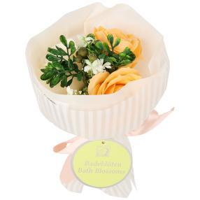 Badeblüte-Rosenstrauß orange