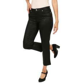 "Jet-Line Damen-Jeans ""Black Leo"" black/black"