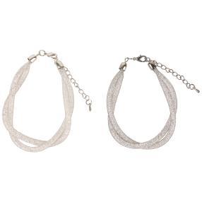 Armbandset Cristal Double Loop