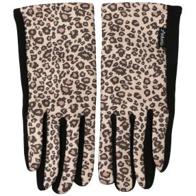 Damenhandschuhe leo beige one size