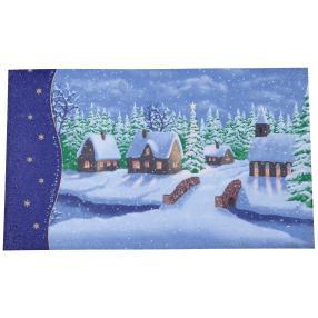 Fußmatte Weihnachten, 75 x 45 cm