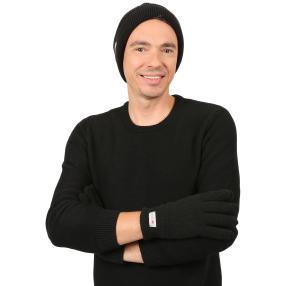 Herrenset: Mütze + Handschuh 3M THINSULATE schwarz