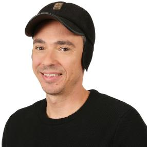 Winter Cap Cord schwarz