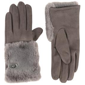 Damenhandschuhe Russia one size dunkelgrau