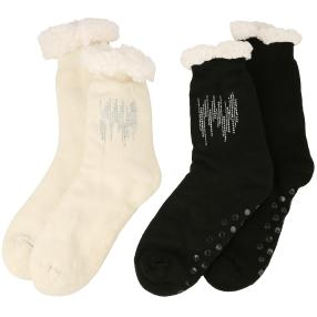 Home Shoes 2er Set Diamond Stripes exklusiv