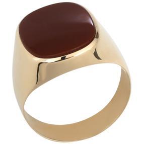 Ring 585 Gelbgold, Karneol
