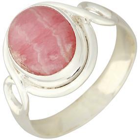 Ring 925 Sterling Silber, Rhodochrosit