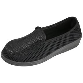 Comando by PANTO FINO Damen Slipper schwarz