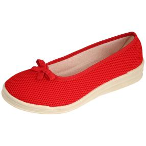 Comando by PANTO FINO Damen Slipper rot