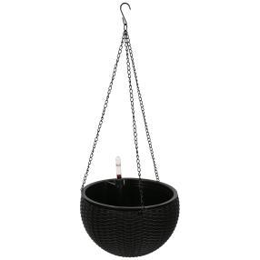Bewässerungstopf schwarz klein