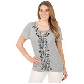 Sommerliches Damen-Shirt 'Ferrera' grau
