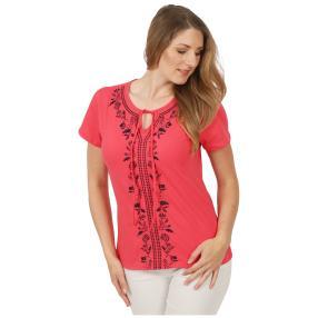 Sommerliches Damen-Shirt 'Ferrera' pink