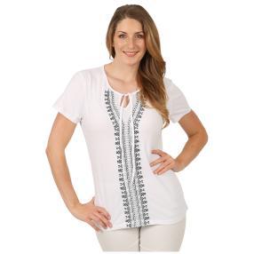Sommerliches Damen-Shirt 'Forrada' weiß
