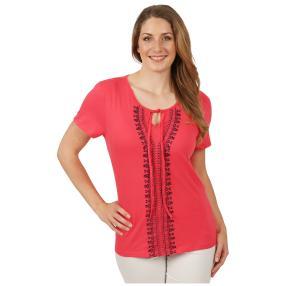Sommerliches Damen-Shirt 'Forrada' pink