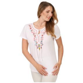 Sommerliches Damen-Shirt 'Cabrera' weiß