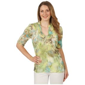 Sommerliche Damen-Crash-Bluse 'Malaga' multicolor