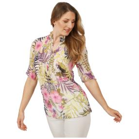 Sommerliche Damen-Crash-Bluse 'Conil' multicolor